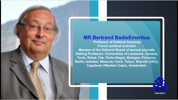 """Toward New Global Governance"" by Professor Bertrand Badie"