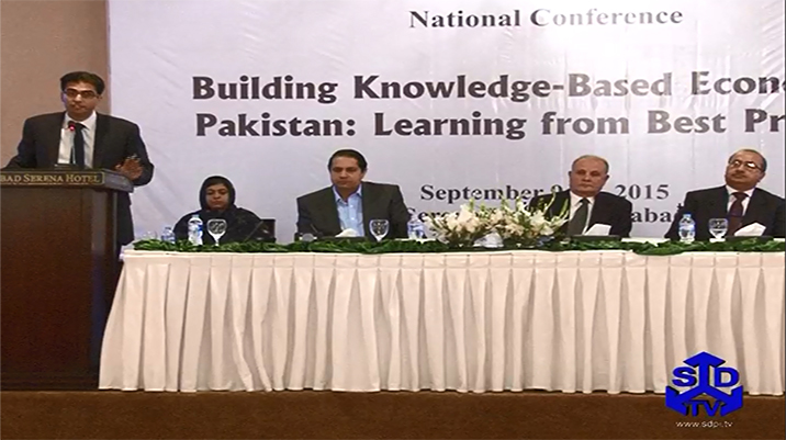 Building Knowledge based Economy in Pakistan