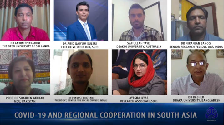 COVID 19 and regional cooperation in South Asia