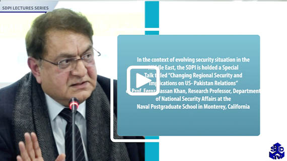 Changing Regional Security and Implications on US- Pakistan Relations