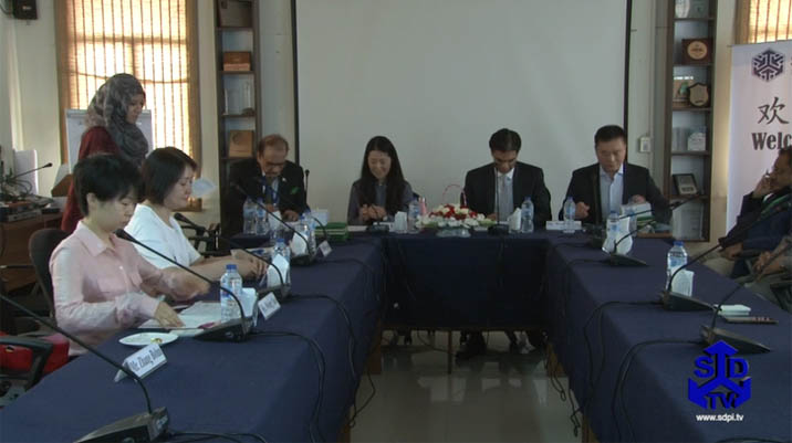 Chinese think tanks visit to SDPI