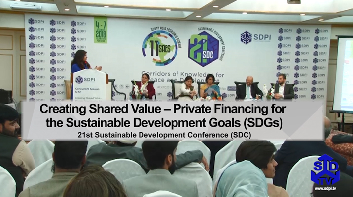 Creating Shared Value – Private Financing for the Sustainable Development Goals (SDGs)