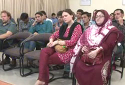 German Students visit SDPI