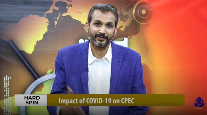 Hard Spin Impact of COVID 19 on CPEC