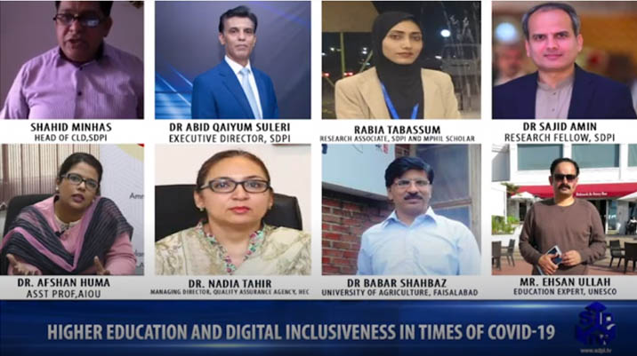 Higher Education and Digital Inclusiveness in Times of COVID 19