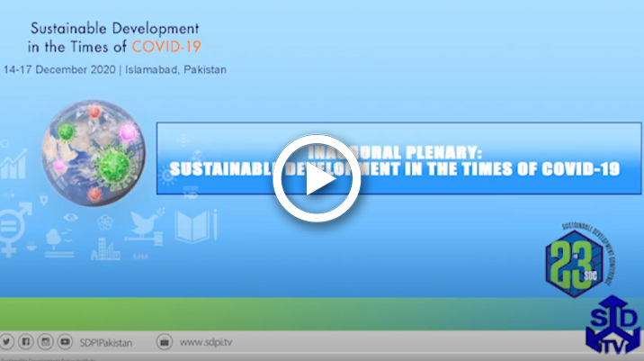 Inaugural Plenary: Sustainable Development in the Times of COVID-19