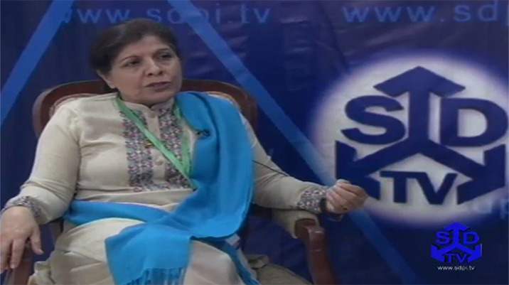 An Interview With Dr Shamshad Akhtar at 17th SDC 2014
