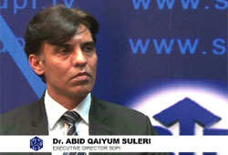 An Interview with Dr. Abid Qaiyum Suleri on NATO