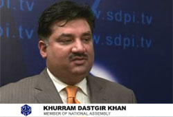 Interview with KHURRAM DASTGIR KHAN at 5th SAES