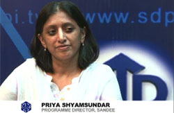 Interview with PRIYA SHYAMSUNDAR
