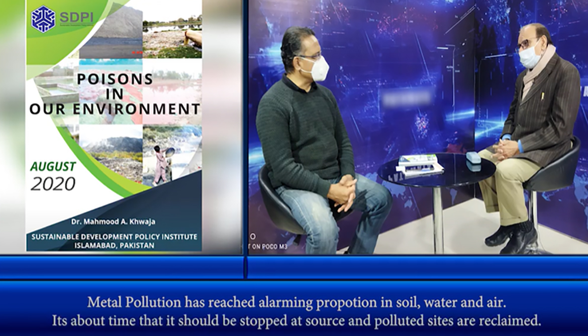 Metal Pollution as Reached alarming Proportion in soil, water and air.
