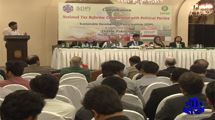 National Tax Reform: Consultation with Political Parties