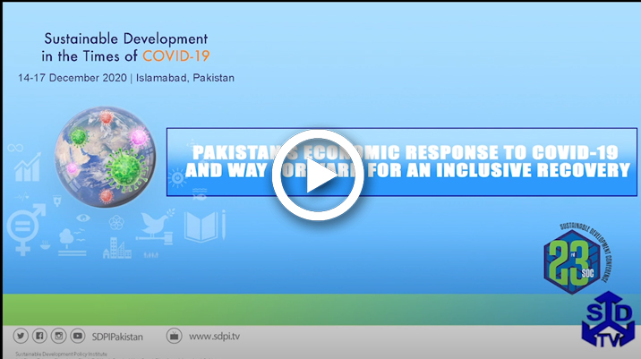 Pakistan's Economic Response to COVID-19 and Way Forward for an Inclusive Recovery