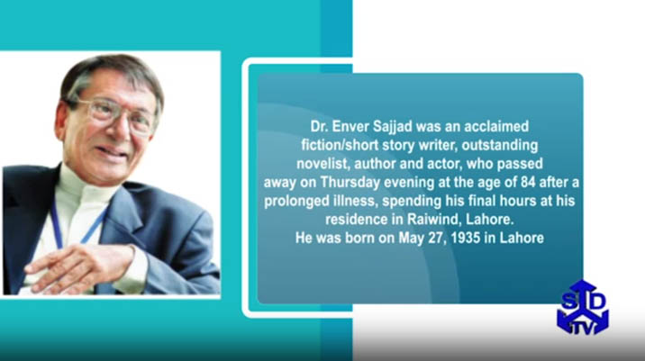 Reference to Pay Tribute to Dr Enver Sajjad