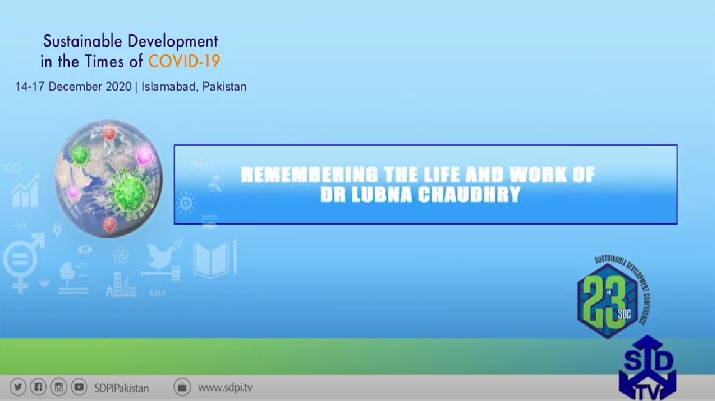 Remembering the Life and Work of Dr Lubna Chaudhry