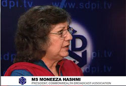 Interview MS MONEEZA HASHMI