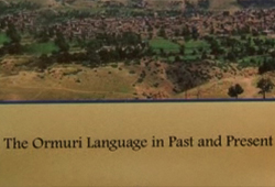 The Ormuri Language in Past and Present