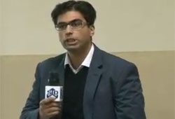 Dr. Vaqar's Lecture at University of Lahore