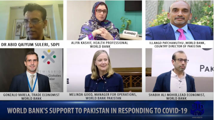 World Bank's support to Pakistan in Responding to Covid-19