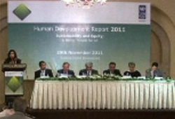Launching Ceremony of Human Development Report 2011